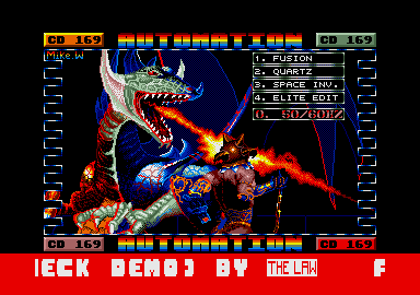 screenshot from disc 169