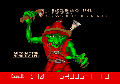 screenshot from disc 170