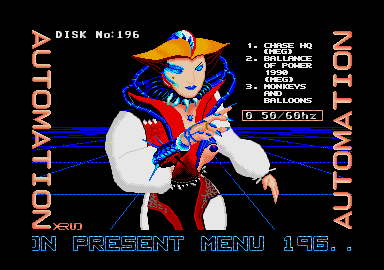 screenshot from disc 196