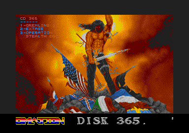 screenshot from disc 365