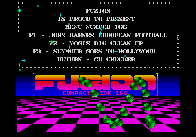 screenshot from disc 166