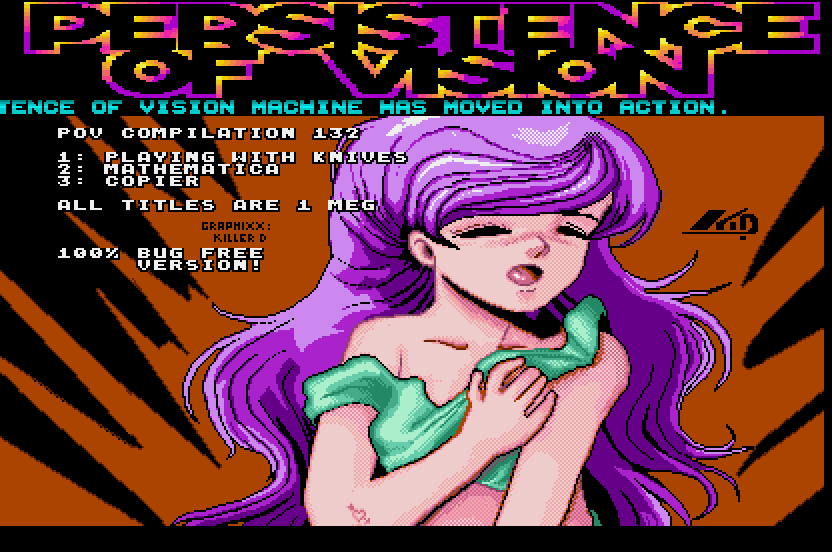 screenshot from disc 132
