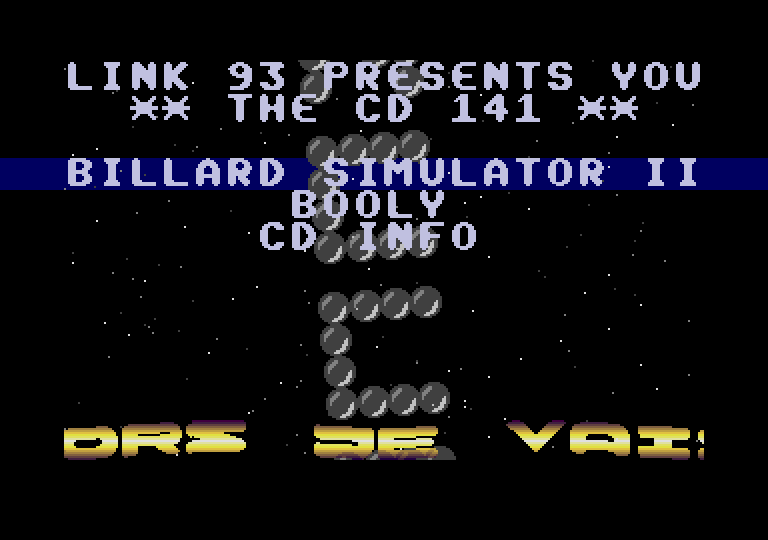 screenshot from disc 141